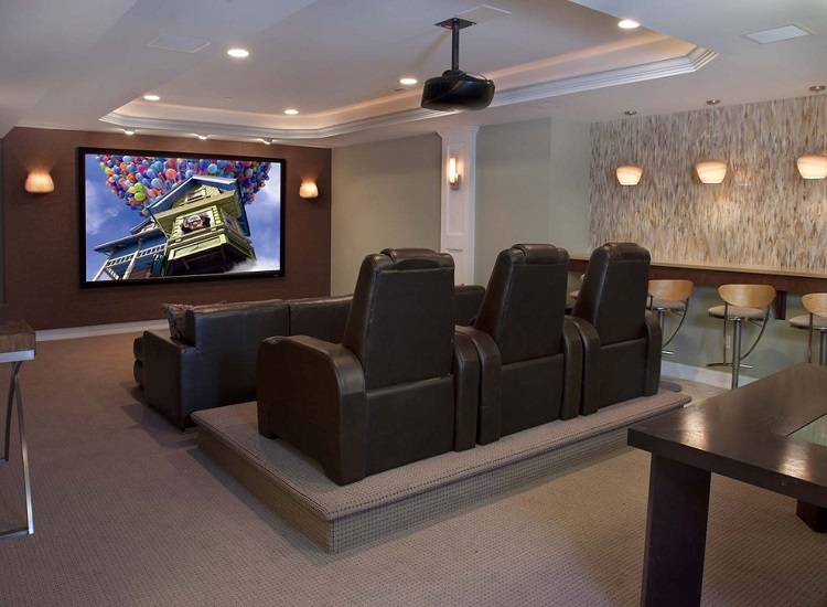 Home Theater a Family Entertainment